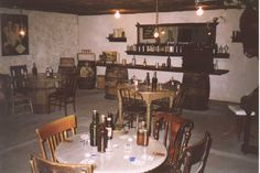 Bar in Underground town during Prohibition. Havre, Montana