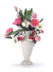 Miniature Dollhouse Flower Arrangements Page 1 Fingertip Fantasies ...