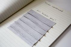 sewing 101: pin tucks