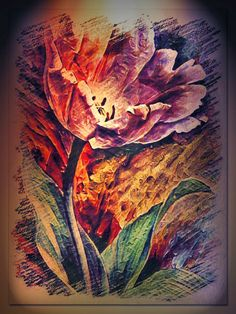 Flower Art, Flowers, Painting, Art Floral, Painting Art, Paintings, Flower, Blossoms