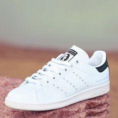 49c4c243809a Stella McCartney and Adidas Launch The First Vegan Leather Stan Smith Shoe  . . .  vegan  crueltyfree  fashion  adidas  shoes  vegannews  livekindly