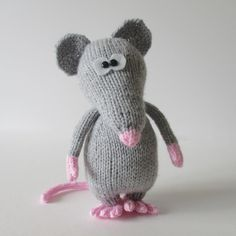 Ravelry: Pepperoni the Rat pattern by Amanda Berry