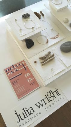 Julia Wright Jewellery: Saltaire Makers Fair