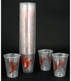 16oz Disposable Crawfish Cups (50) $7.95