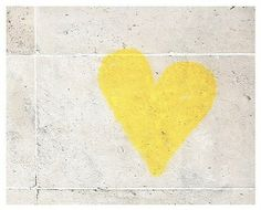 I just like this yellow heart...