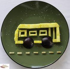 Fun, healthy creative food bus