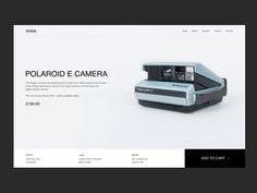 Camera store website by Anastasia Camera Store, Anastasia, Website