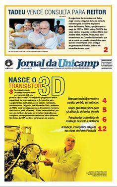 Nasce o transistor 3D. Grupo desenvolve o 1º transistor 3D do país