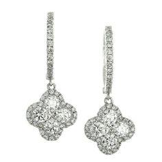 Sonais Earring, Diamond Classic Collection Earring Dangle.
