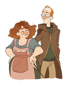 i drew the kids, so i figured it was time to draw mom and dad too! hopefully you can see where each weasley kid gets their features from! Harry Potter Cosplay, Harry Potter Cast, Harry Potter Fan Art, Harry Potter Characters, Harry Potter Universal, Harry Potter World, Harry Potter Memes, Drarry, Hermione