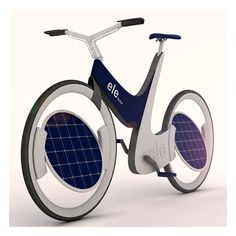 Solar Hybrid Bicycle Concept Could be Ultimate E-Bike - http://blacklemag.com/technology/solar-hybrid-bicycle-concept-could-be-ultimate-e-bike/