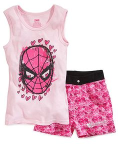Spiderman Jammies for the girls