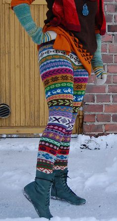 Patterned Tights, Tunic Pattern, Stocking Tights, Knit Pants, Drops Design, Knitting Projects, Leg Warmers, Lehenga, Knit Crochet