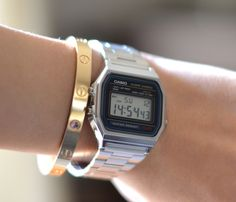 Am loving this vintage casio watch! :)