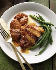 Apple-Braised Turkey Thighs