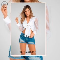 Blusas que te harán lucir perfecta Haz clic en la imagen y compra online>>> Duster Coat, Ruffle Blouse, Jackets, Tops, Women, Fashion, Shopping, Vestidos, Pants