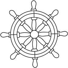 boat steering wheel drawing - Google zoeken