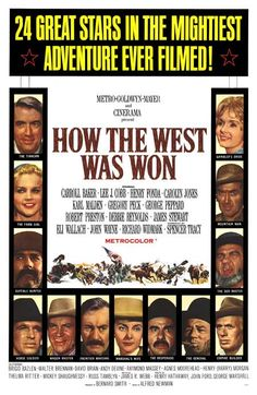 How the west was won quot 1963 directed by john ford henry hathaway