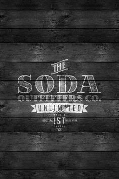 soda outfitters co. iphone wallpaper