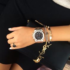 Audemars Piguet - Royal Oak Chronograph Pink Gold Bracelet Ref. 26320OR.OO.1220OR.01 @ellamois