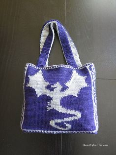 Double Knitting Bag Pattern : 1000+ images about Purse Knitting Patterns on Pinterest Knitting Patterns, ...