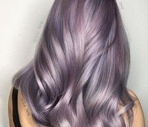 Pastel Purple Hair Color Trend Smokey Pastel is the Coolest Hair Trend for Winter Of 97 Best Pastel Purple Hair Color Trend Pastel Lilac Hair, Silver Lavender Hair, Violet Hair Colors, Lavender Hair Colors, Bold Hair Color, Hair Dye Colors, Silver Hair, Creative Hair Color, Guy Tang