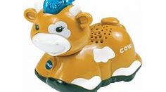 VTECH Baby Toot Toot Animals Toot Toot Animals Cow The cow loves to make milk for people to drink! Join the cow and her other Toot-Toot Animal friends on fun adventures on the Toot-Toot Animals play sets The cow is perfect for little hands and can be  http://www.comparestoreprices.co.uk/educational-toys/vtech-baby-toot-toot-animals-toot-toot-animals-cow.asp