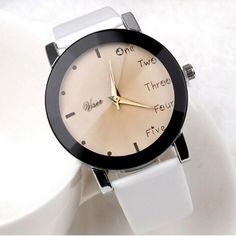 Watch Women Clock New Neutral Leisure Letters Motion Simulation Of Electronic Quartz Watch Beautiful Comfortable Temperament C5