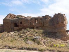 monegros: fortificacion de la Gabarda