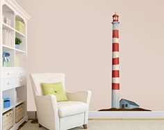 Red and White Striped Lighthouse - Vinyl Wall Decal Wall ... https://www.amazon.com/dp/B00Q3MXNTO/ref=cm_sw_r_pi_dp_x_4sFgybC6XGJ5R