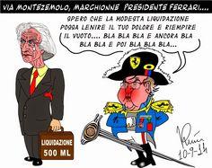 Graffiti satirici...: Le dimissioni di Montezemolo...