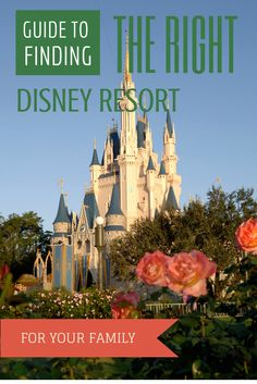 Guide to finding the right #Disney resort hotel for your family! www.pitstopsforkids.com