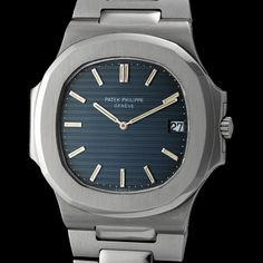 """Patek Philippe steel """"Nautilus"""". Just a classic """"go-anywhere"""" watch. PP version of a Rolex Explorer."""