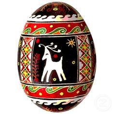 Pysanky (Ukranian Easter Egg) Ornament Photo Sculptures