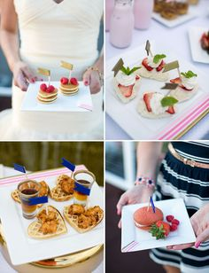 fun breakfast finger foods for your wedding reception