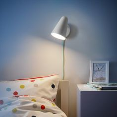 Nursery Lighting, Kids Lighting, Armoire Pax, Ikea Family, Paint Shades, Led Wall Lamp, Reading Stories, Led Lampe, Light Colors