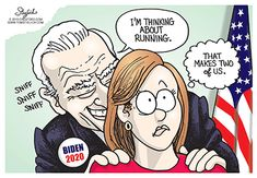 Touchy Feely creepy keep your hands to yourself crazy uncle Joe Biden. - Touchy Feely creepy keep your hands to yourself crazy uncle Joe Biden. Joe Biden Meme, Political Quotes, Political Cartoons, Funny Cartoons, Creepy Joe Biden, Conservative Politics, Popular Memes, Funny Pictures, Funny Stuff