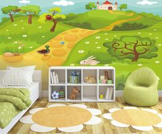 Fototapeta w pokoju dziecięcym