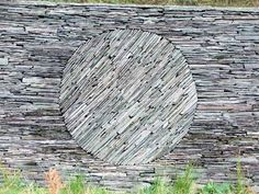 Slate wall by Andy Goldsworthy. www.goldsworthy.cc.gla.ac.uk