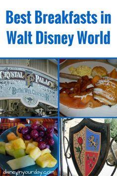 Best Breakfasts at Walt Disney World