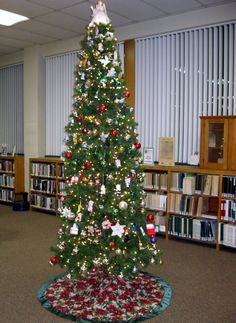 our tree at Southworth Library