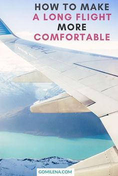 Long baggage lines, stressful security checkpoints, crying children... Traveling by plane is not on the list of the most pleasurable experiences. How can you make a long flight comfortable? Check out my 10 best tips.