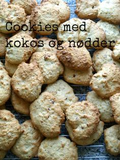 Opskrift: Cookies med kokos og nødder // MTOTFLS.DK