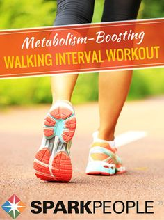 Challenge Every Muscle with This Walking Interval Workout | via @SparkPeople #walking #workout #exercise #fitness #routine #intervals