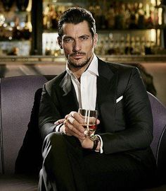 David Gandy looks ridiculously good in a suit. Mode Masculine, Fashion Moda, Mens Fashion, Gentlemans Club, Look Man, David James Gandy, David Gandy Suit, Herren Outfit, Sharp Dressed Man