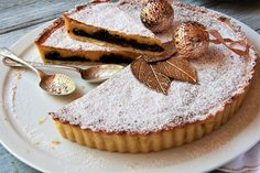 Christmas rum and prune tart recipe, Bite – visit Eat Well for New Zealand recipes using local ingredients - Eat Well (formerly Bite) Prune Plum, Short Pastry, Dried Prunes, Ground Almonds, Dried Beans, Tart Recipes, Recipe Using, Rum, Sweet Tooth
