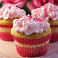 Simple White Cake or Cupcakes Allrecipes.com