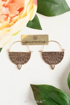 Samantha Wills Hunter & Gatherer Earrings in Gold | St. Frock