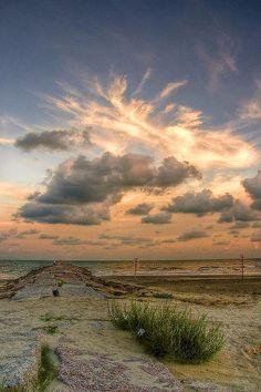 Galveston Beach, Texas
