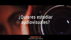 ¿Quieres Trabajar en el Sector Audiovisual? Cursos de Cine, Locución, Radio, TV y más. Infórmate Por Tv, School
